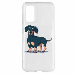 Чохол для Samsung S20 Cute dachshund