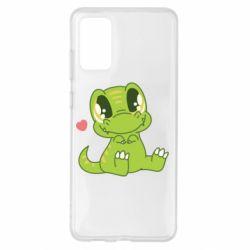Чохол для Samsung S20+ Cute dinosaur