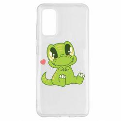 Чохол для Samsung S20 Cute dinosaur