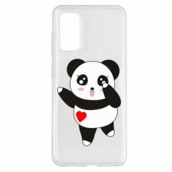 Чохол для Samsung S20 Cute little panda