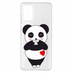Чохол для Samsung S20+ Cute panda