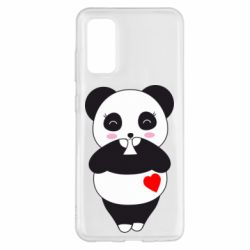 Чохол для Samsung S20 Cute panda