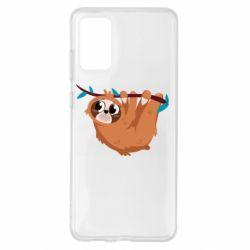 Чохол для Samsung S20+ Cute sloth