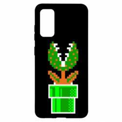Чохол для Samsung S20 Квітка-людожер Супер Маріо
