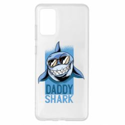 Чохол для Samsung S20+ Daddy shark