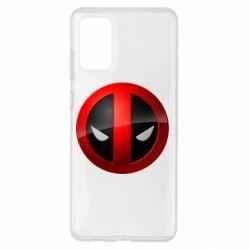 Чехол для Samsung S20+ Deadpool Logo