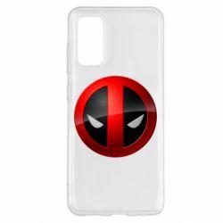 Чехол для Samsung S20 Deadpool Logo