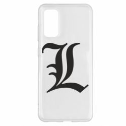 Чехол для Samsung S20 Death Note minimal logo