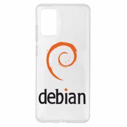 Чехол для Samsung S20+ Debian