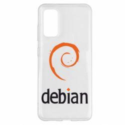 Чехол для Samsung S20 Debian