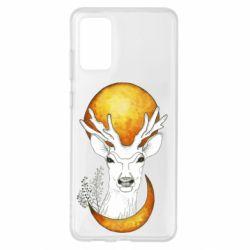 Чохол для Samsung S20+ Deer and moon