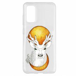 Чохол для Samsung S20 Deer and moon