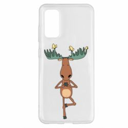 Чохол для Samsung S20 Deer and Yoga