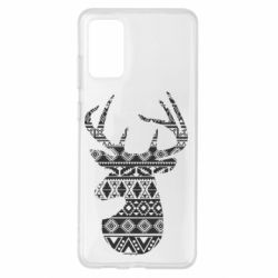 Чохол для Samsung S20+ Deer from the patterns