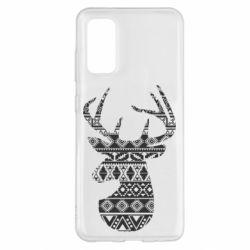 Чохол для Samsung S20 Deer from the patterns