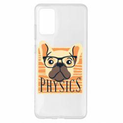 Чехол для Samsung S20+ Dog Physicist