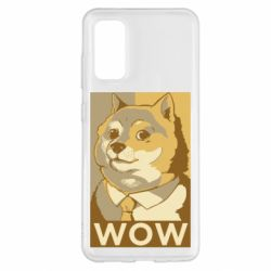 Чохол для Samsung S20 Doge wow meme