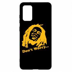Чохол для Samsung S20+ don't Worry (Bob Marley)