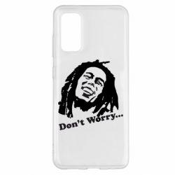 Чохол для Samsung S20 don't Worry (Bob Marley)