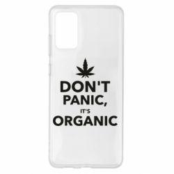 Чохол для Samsung S20+ Dont panic its organic