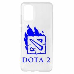 Чохол для Samsung S20+ Dota 2 Fire