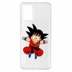 Чохол для Samsung S20+ Dragon ball Son Goku