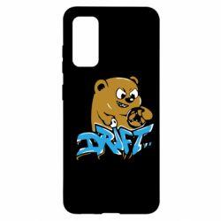 Чехол для Samsung S20 Drift Bear