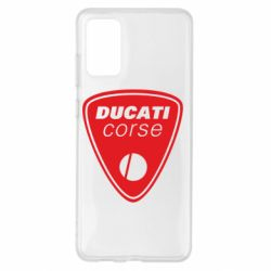 Чохол для Samsung S20+ Ducati Corse