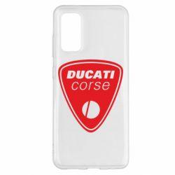 Чохол для Samsung S20 Ducati Corse