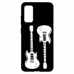 Чохол для Samsung S20 Дві гітари