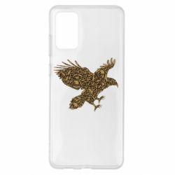 Чехол для Samsung S20+ Eagle feather