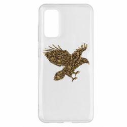 Чехол для Samsung S20 Eagle feather