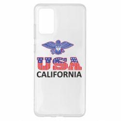 Чехол для Samsung S20+ Eagle USA
