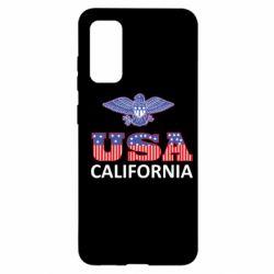 Чехол для Samsung S20 Eagle USA