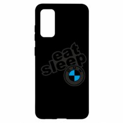 Чохол для Samsung S20 Eat, sleep, BMW