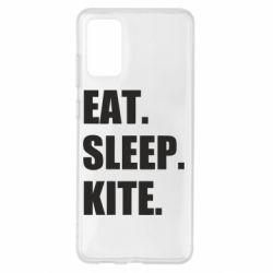 Чохол для Samsung S20+ Eat, sleep, kite
