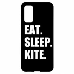 Чохол для Samsung S20 Eat, sleep, kite
