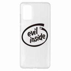 Чохол для Samsung S20+ Evil Inside