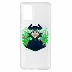 Чехол для Samsung S20+ Evil Maleficent