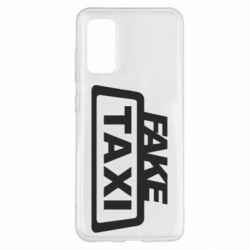 Чохол для Samsung S20 Fake Taxi