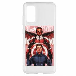 Чохол для Samsung S20 Falcon and the Winter Soldier Art