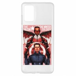 Чохол для Samsung S20+ Falcon and the Winter Soldier Art