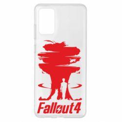 Чехол для Samsung S20+ Fallout 4 Art