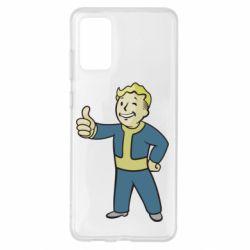 Чехол для Samsung S20+ Fallout Boy