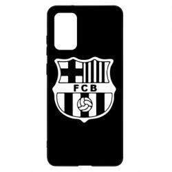 Чохол для Samsung S20+ FC Barcelona