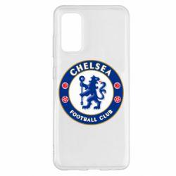 Чехол для Samsung S20 FC Chelsea