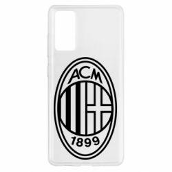 Чохол для Samsung S20 FE AC Milan logo