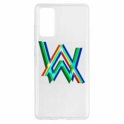 Чохол для Samsung S20 FE Alan Walker multicolored logo