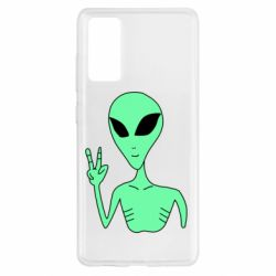 Чохол для Samsung S20 FE Alien and two fingers