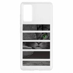 Чехол для Samsung S20 FE All seeing cat
